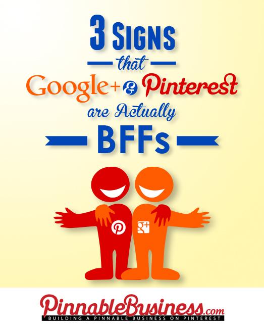 Google + Pinterest