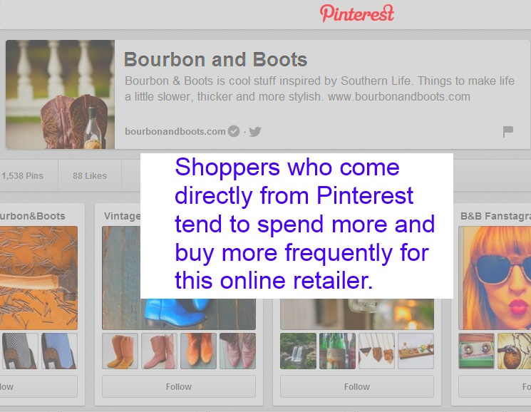 Revenue from Pinterest Marketing Campaign up over 1300% for Online Retailer