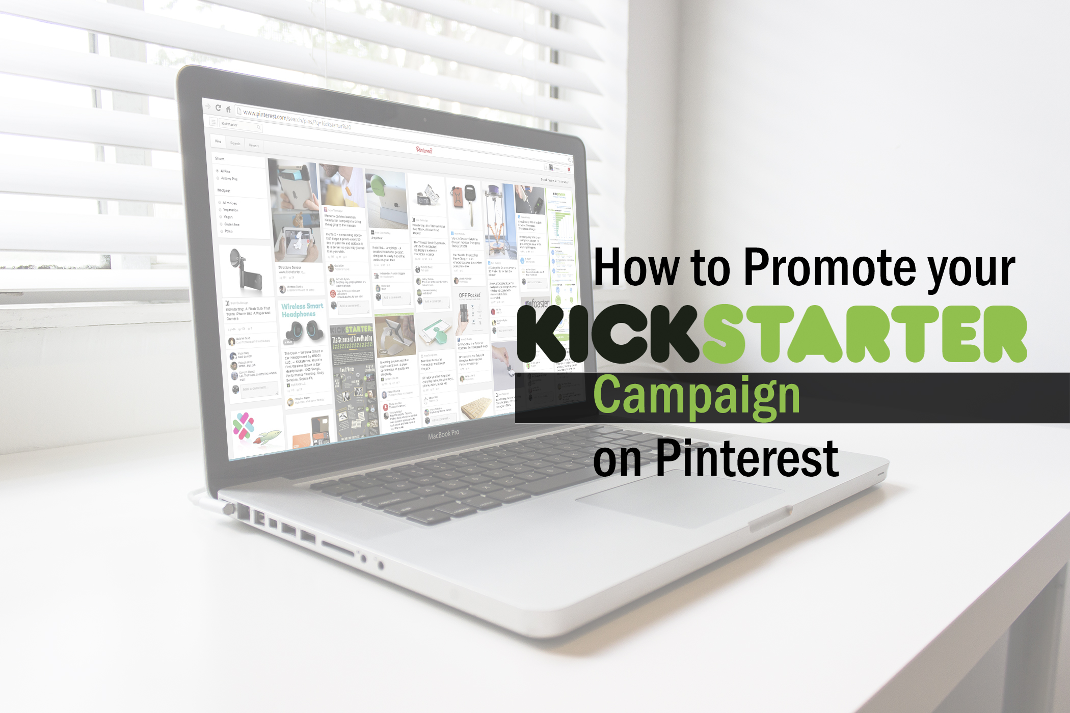How to Promote your Kickstarter Campaign on Pinterest